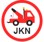 Business logo. JKN Recovery Northampton